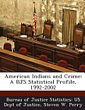 American Indians and Crime: A Bjs Statistical Profile, 1992-2002
