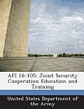 AFI 16-105: Joint Security Cooperation Education and Training