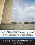 AR 210-130: Laundry and Dry Cleaning Operations