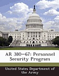 AR 380-67: Personnel Security Program