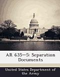 AR 635-5: Separation Documents
