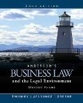 Andersons Business Law & The Legal Environment Standard Volume