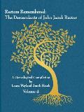 Rectors Remembered: The Descendants of John Jacob Rector Volume 4
