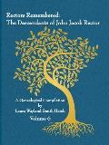 Rectors Remembered: The Descendants of John Jacob Rector Volume 6