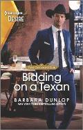 Bidding on a Texan: A Sexy Western Bachelor Auction Romance