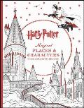 Harry Potter Magical Places and Characters Coloring Book