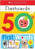 Write & Wipe Flashcards First 50 Words Scholastic Early Learners