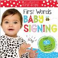 Touch & Feel Baby Signs Scholastic Early Learners