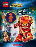 Faster than Lightning LEGO DC Comics Super Heroes Activity Book with Minifigure