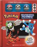 Training Manual Pokemon Training Box with Poke Ball erasers