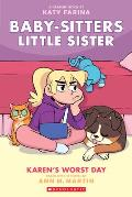 Karens Worst Day Baby sitters Little Sister Graphic Novel 3