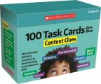 100 Task Cards in a Box: Context Clues: Mini-Passages with Key Questions to Boost Reading Comprehension Skills