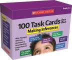 100 Task Cards in a Box: Making Inferences: Mini-Passages with Key Questions to Boost Reading Comprehension Skills