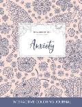 Adult Coloring Journal: Anxiety (Animal Illustrations, Ladybug)