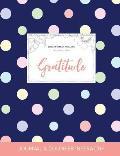 Journal de coloration adulte: Gratitude (Illustrations de papillons, Pois)