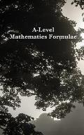 A-Level Mathematics Formulae (Black and White)