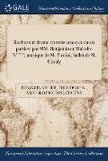 Rochester: Drame En Trois Actes: Et En Six Parties: Par MM. Benjamin Et Theodre N***; Musique de M. Piccini; Ballet de M. Coraly
