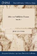 Julius Von Vo Kleine Romane; Dritter Band