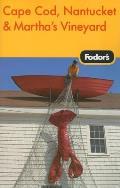 Fodors Cape Cod Nantucket & Marthas Vineyard 28th Edition