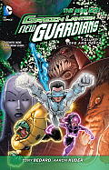 Green Lantern New Guardians Volume 3 Love & Death The New 52