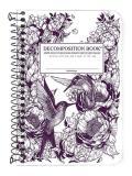 Hummingbirds Pocket Lined Coilbound Decomposition Book