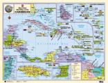 Macmillan Wall Map of the Caribbean