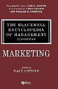 The Blackwell Encyclopedia of Management, Marketing