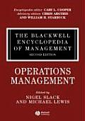 The Blackwell Encyclopedia of Management, Operations Management