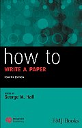How to Write a Paper,