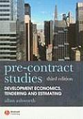 Pre-Contract Studies 3e