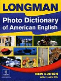 Longman Photo Dictionary of American English Monolingual Edition with Audio CDs