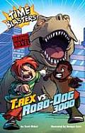 T.Rex Vs Robo-Dog 3000