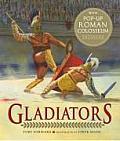 Gladiators with Pop Up Roman Colosseum