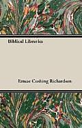 Biblical Libraries
