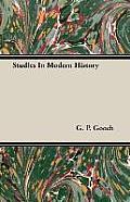 Studies in Modern History
