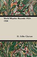 World Weather Records 1921-1930