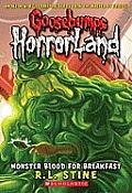 Goosebumps Horrorland 03 Monster Blood for Breakfast UK