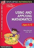 Using and Applying Mathematics: Ages 4-5
