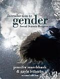 Introduction To Gender Second Edition