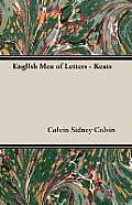English Men of Letters - Keats