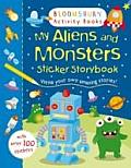 My Aliens & Monsters Sticker Storybook