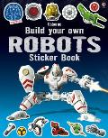 Build Your Own Robots Sticker Book