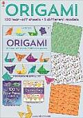 Origami 100 Tear Off Sheets 5 Different Models