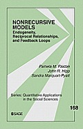 Nonrecursive Models: Endogeneity, Reciprocal Relationships, and Feedback Loops
