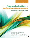 Program Evaluation & Performance Measurement An Introduction To Practice