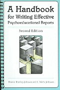 Handbook For Writing Effective Psychoeduca