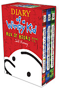 Diary of a Wimpy Kid Box of Books Books 1 3