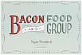 Daily Dishonesty Bacon Is a Food Group Paper Placemats 40 Sheets 5 Designs