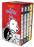 Diary of a Wimpy Kid Box Of Books Diary of a Wimpy Kid Rodrick Rules The Last Straw Dog Days