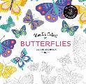 Vive Le Color Butterflies Coloring Book Color In de Stress 72 Tear Out Pages